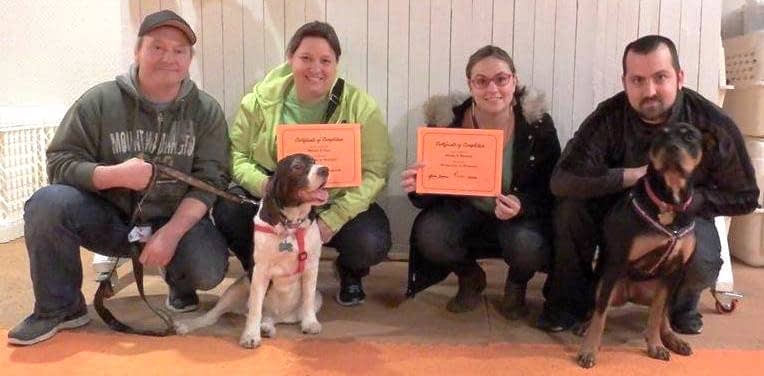 Group Dog Training Class Graduates | Spring Forth Dog Academy